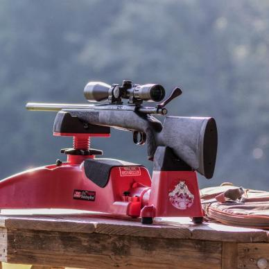 Remington 700 Rifle on Benchrest