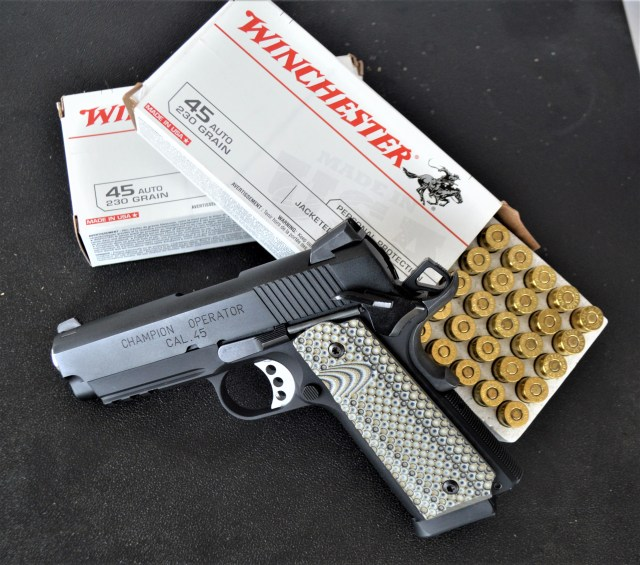 Springfield Lightweight Champion 1911