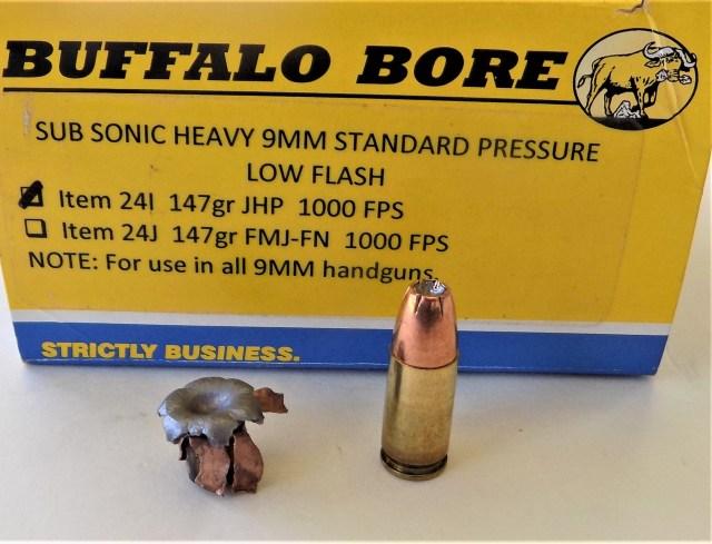 Buffalo Bore 9mm Luger Ammo