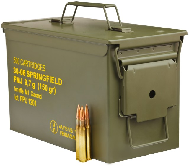 Ammo Storage Container