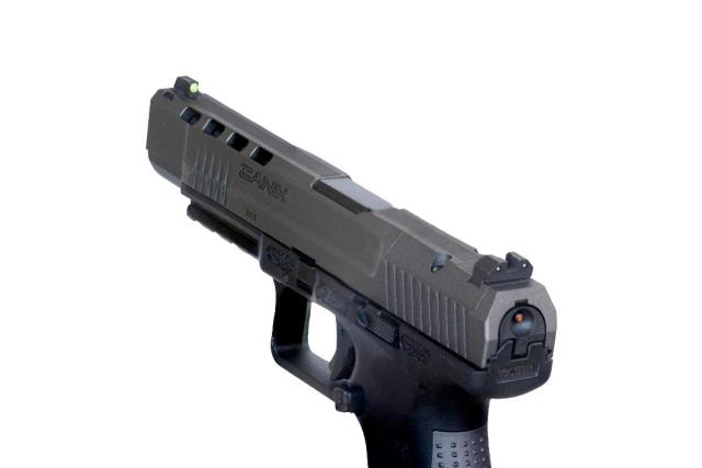 XS RAM Sights on Canik Pistol