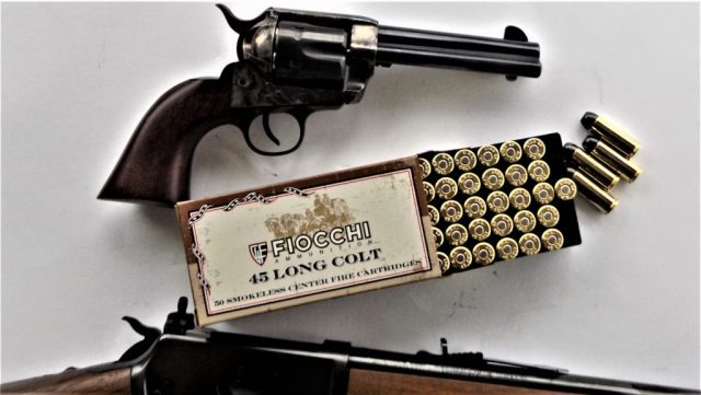 Fiocchi .45 Colt and Single Action Revolver