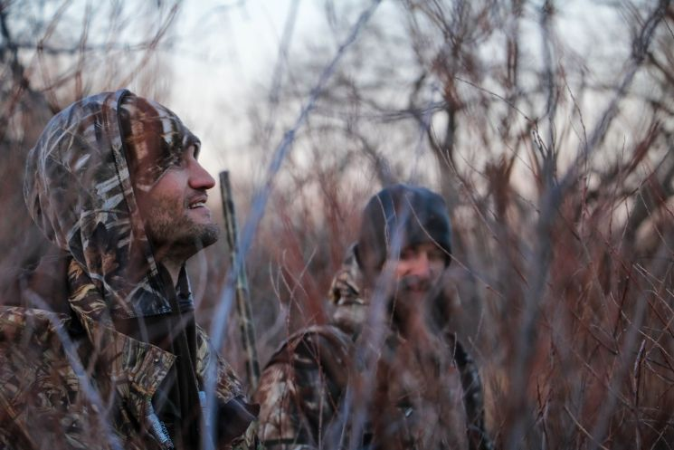 People Going Hunting