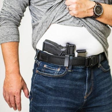 Best Concealed Carry Holsters Man With IWB Holster
