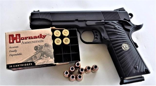 Wilson Combat 1911 and Hornady .45 ACP Ammo