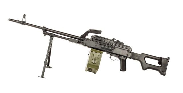 RPK belt-fed machine gun