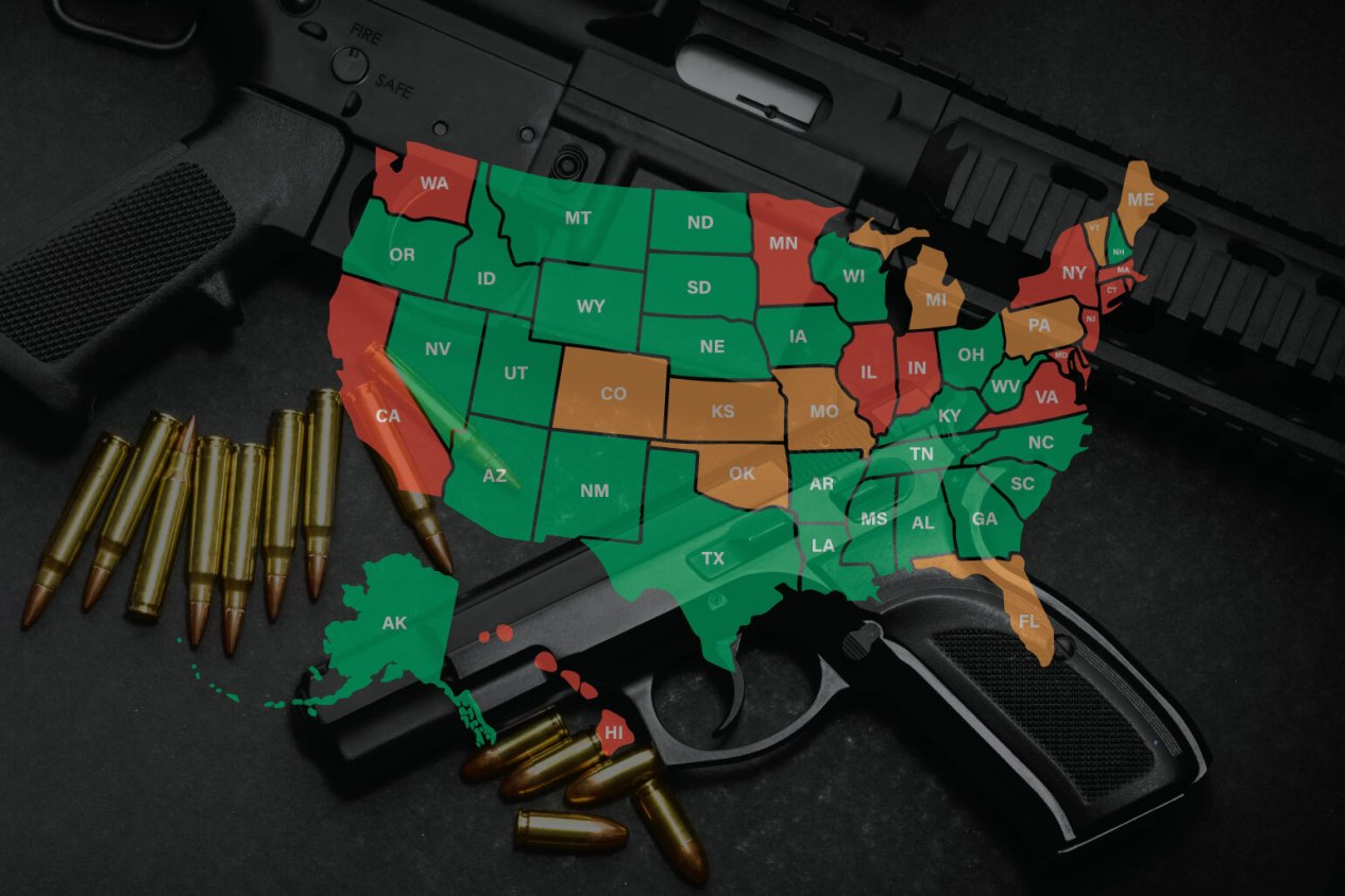 Banned Guns, Ammo and Accessories by State