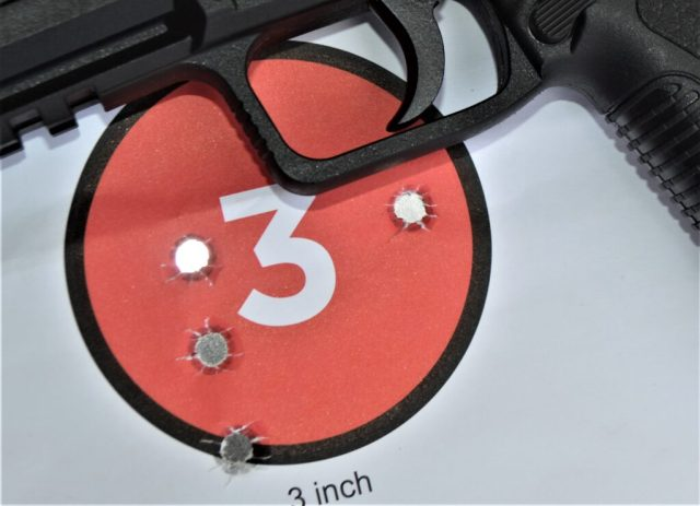 9mm Luger Accuracy on Target