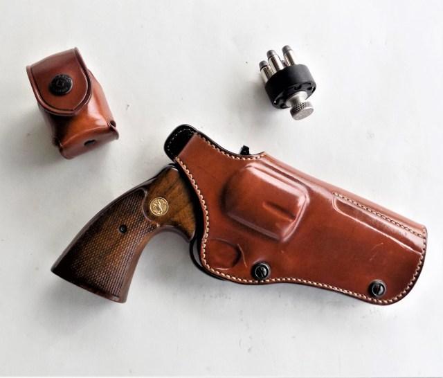 Colt Python in Holster
