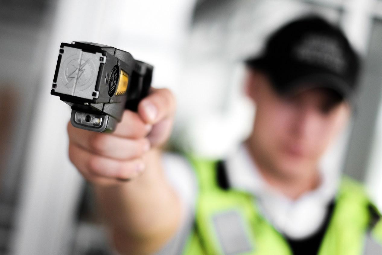 Security Guard with Stun Gun