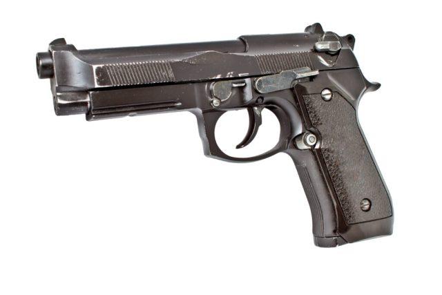 Worn Beretta 92fs Brigadier Pistol