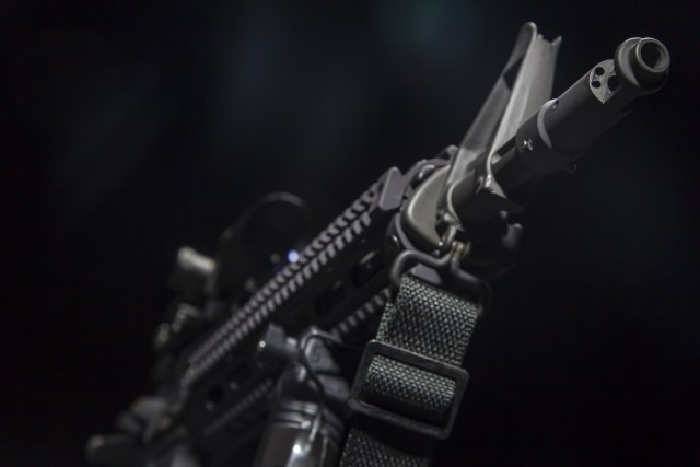 AR-15 with Sling