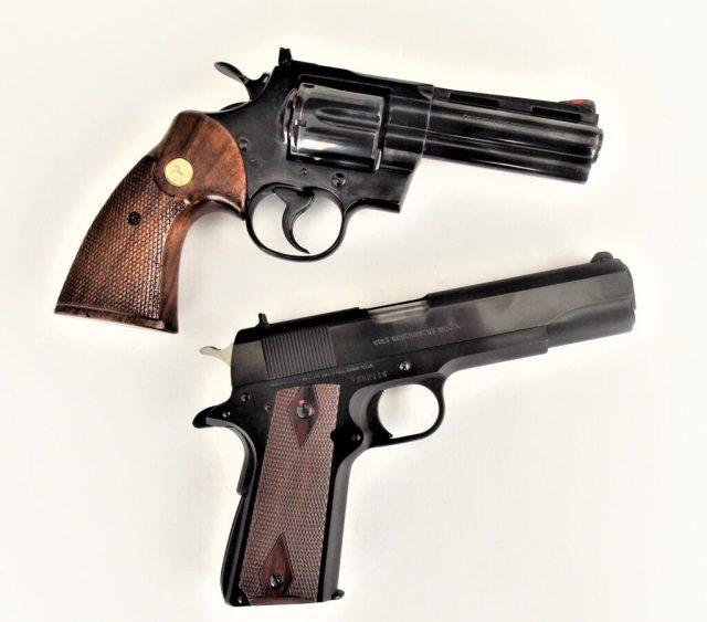 Colt 1911 and Python