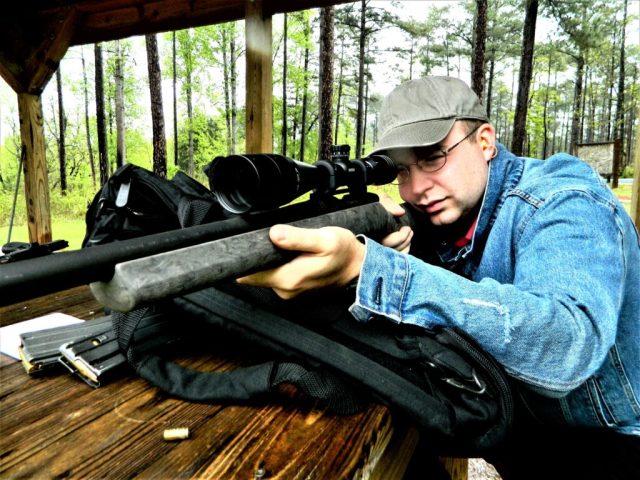 man Shooting Remington 700
