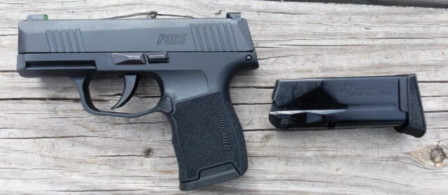 SIG Sauer P365 and Spare Magazine