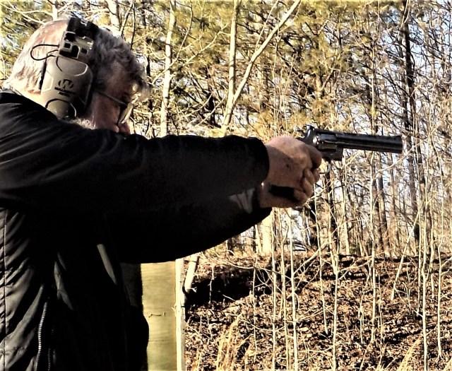 Man Shooting Colt Python Grail Guns - blog posts 2020