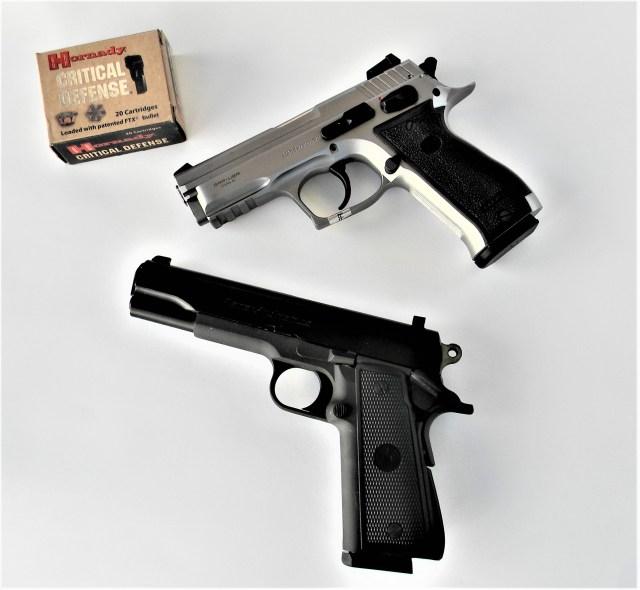 SAR K2C and Para Ordnance P14