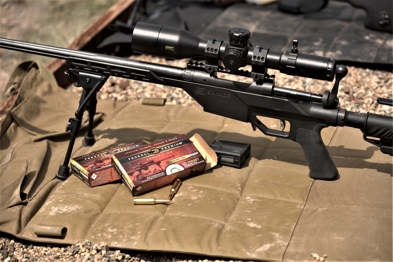 Federal Ammo and Bolt-Action Rifle