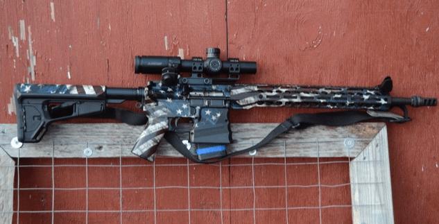American Flag AR-15