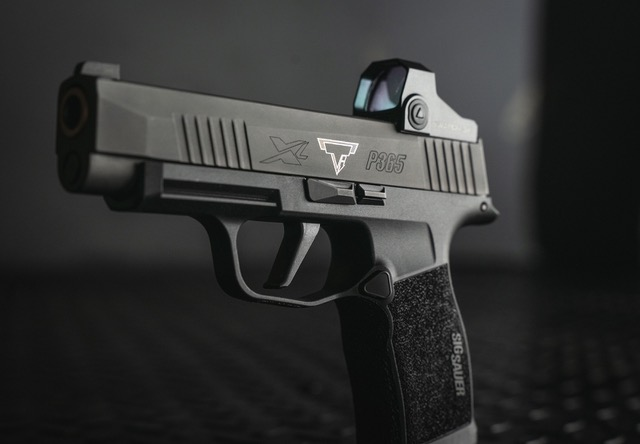SIG P365 XL with Red Dot Sight
