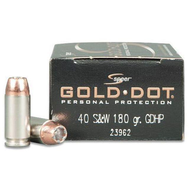 .40 S&W Speer ammo