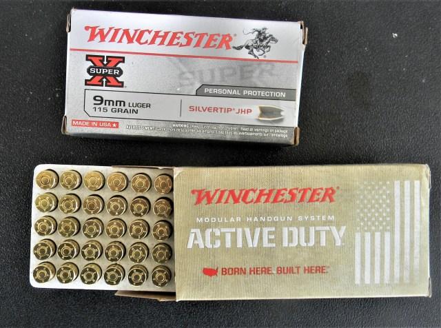 Winchester 9mm Luger Ammunition
