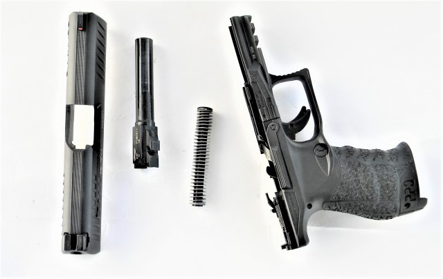 Disassembled Walther PPQ