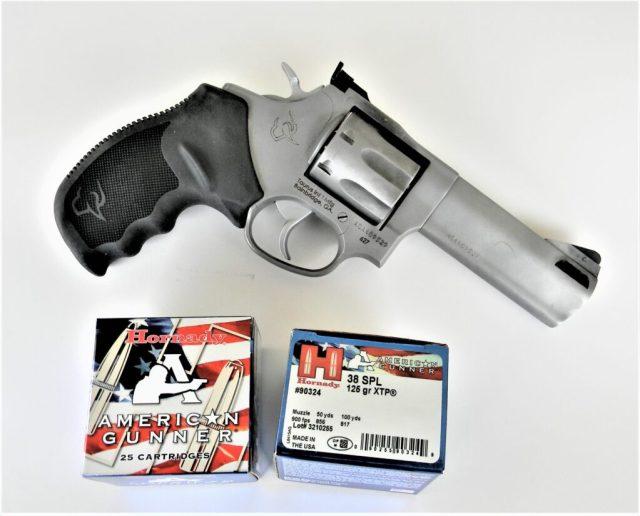 Taurus Tracker Revolver with Ammo