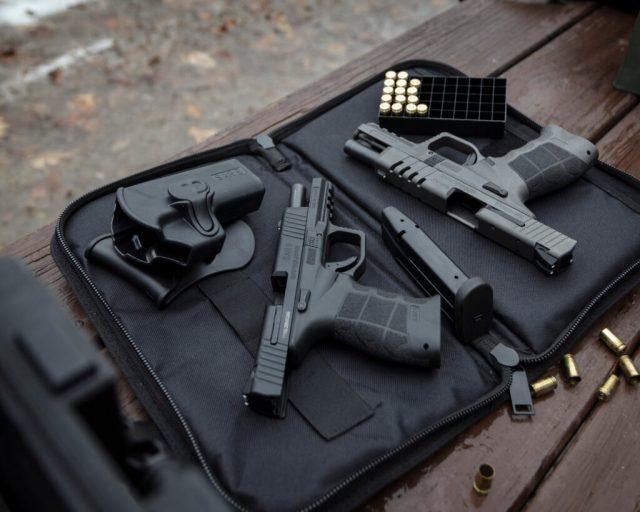 Two Pistols In Case