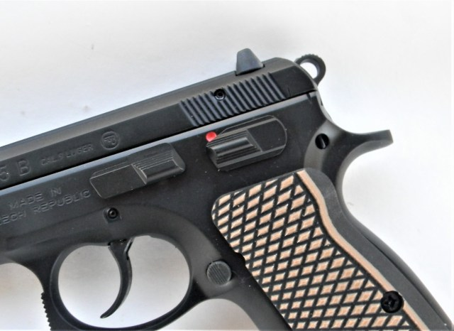 CZ 75 with manual safety