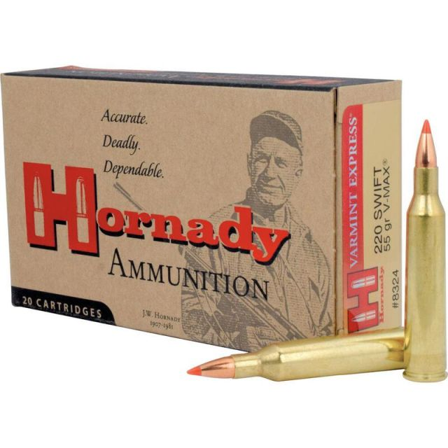 Hornady .220 Swift Ammo varmint cartridges