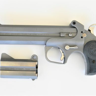 Bond Arms Roughneck Derringer with two barrel options