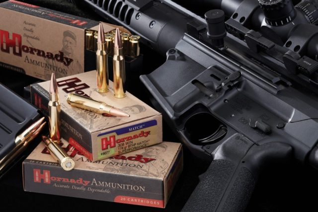 AR-15 and ammo