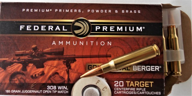 Federal .308 Winchester Ammo and Box