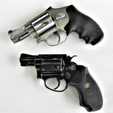 Two Snub Nose Revolvers