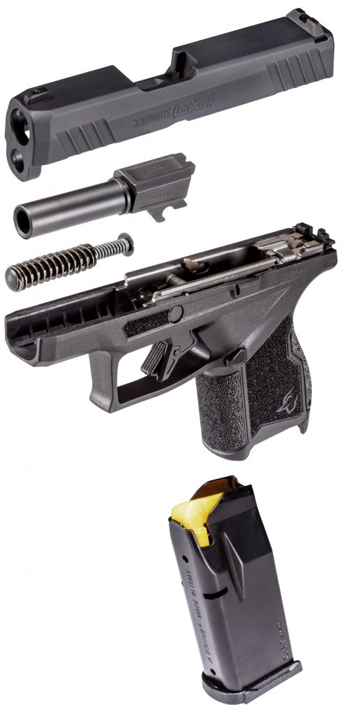 Disassembled Taurus Pistol