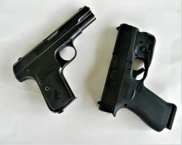 Colt 1903 and GLOCK milk run guns