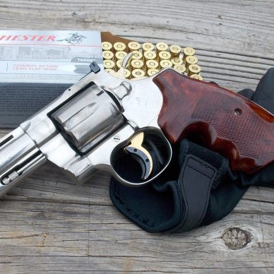 Smith and Wesson Revolver and Ammo