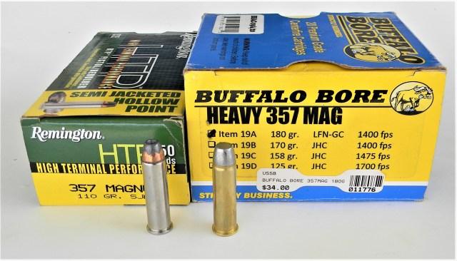 Buffalo Bore .357 Magnum Ammo