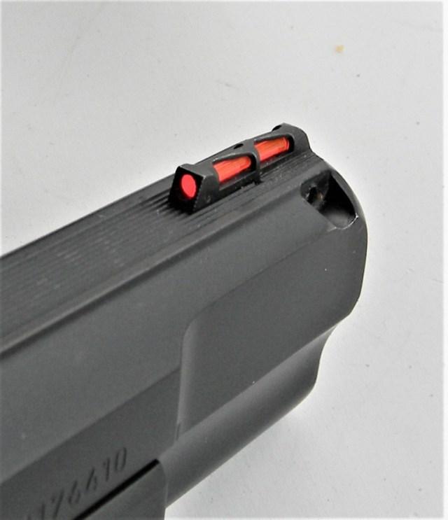 Fiber-Optic pistol sight