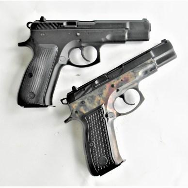 Two CZ 75 Pistols