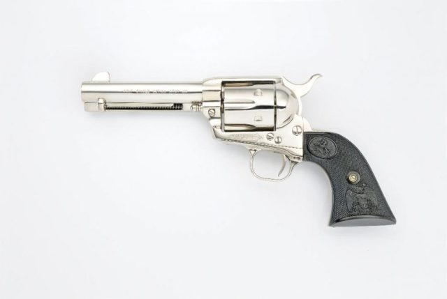 Stainless Single-Action Revolver