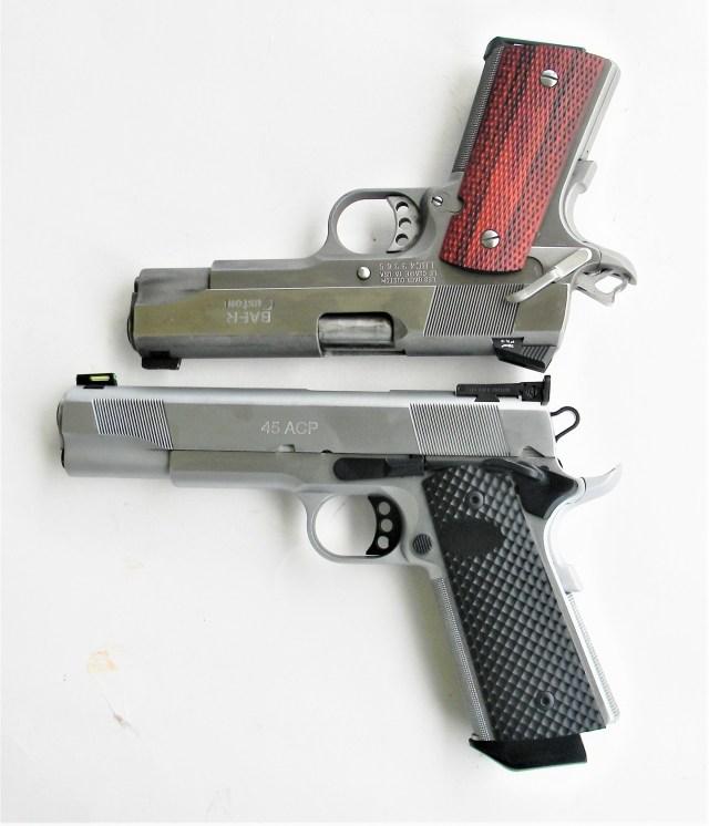 Two 1911 pistols