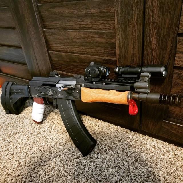AK Pistol with light