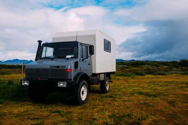 Off road camper as a bug-out vehicle