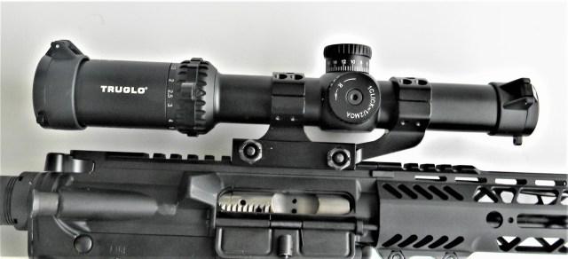 AR-15 with optic