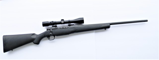 Mossberg Patriot with Rifle Scope