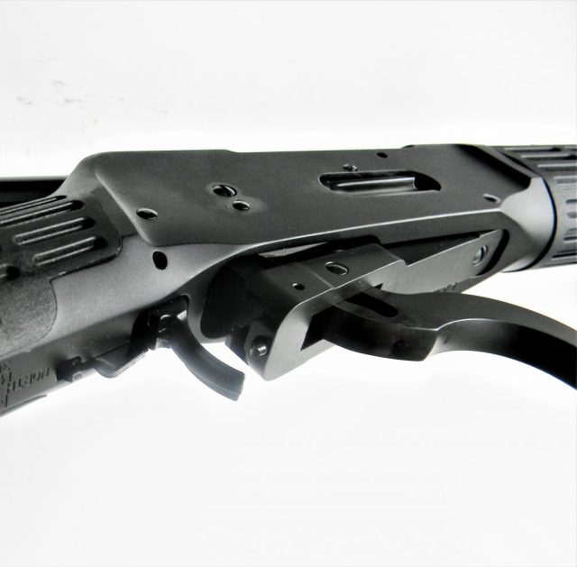mossberg 464 SPX lever-action rifle lever and safety
