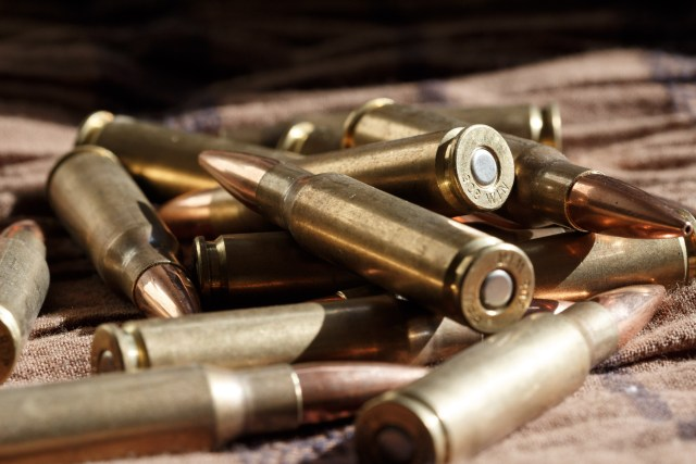 .308 Cartridges in Pile