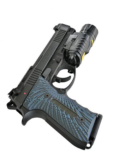 Girsan Regard Gen 4 pistol with TruGlo weapon light attached